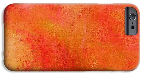 Enliven iPhone Cases - Living in a Tangerine World iPhone Case by Ann Johndro-Collins