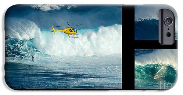 Caption iPhone Cases - Living The Dream With Caption iPhone Case by Bob Christopher