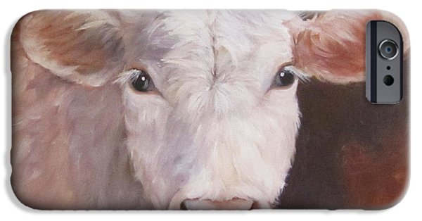 Recently Sold -  - Crops iPhone Cases - Lizzy Has A Bad Hair Day iPhone Case by Cheri Wollenberg