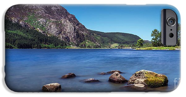 Stopper iPhone Cases - Llyn Cwellyn iPhone Case by Adrian Evans