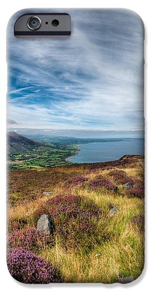 Llyn Peninsula iPhone Case by Adrian Evans