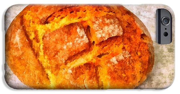 Loaf Of Bread iPhone Cases - Loaf of bread iPhone Case by Matthias Hauser