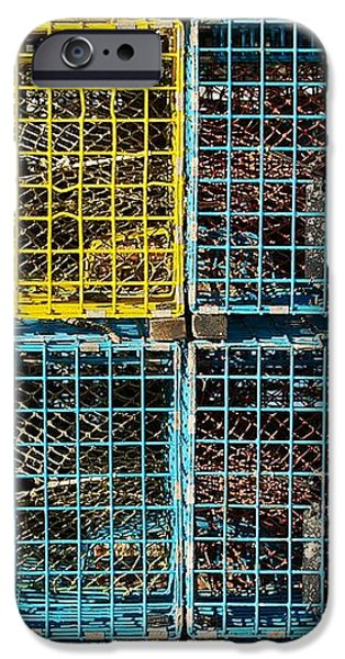 Lobster Traps iPhone Case by Stuart Litoff
