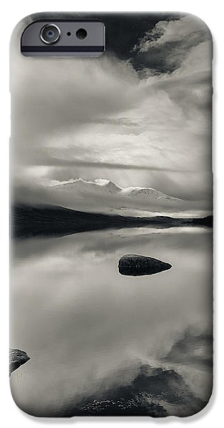 Loch Etive iPhone Case by Dave Bowman