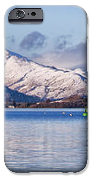 loch lomond panorama iPhone Case by Antony McAulay