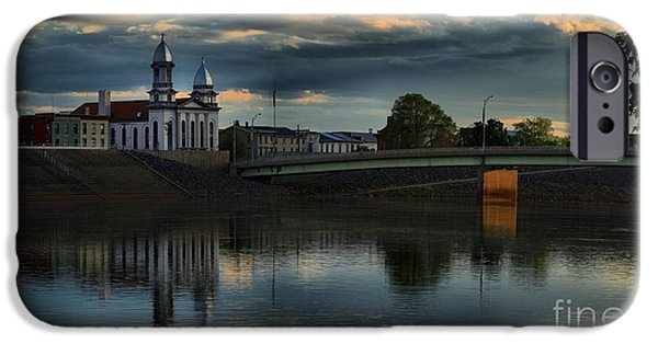 Historic Site iPhone Cases - Lock Haven Pennsylvania Court House iPhone Case by Adam Jewell