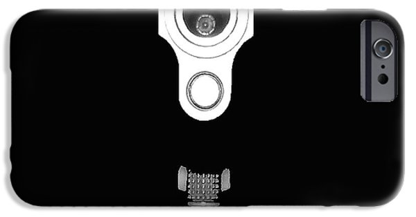Business Digital Art iPhone Cases - Locked and Loaded iPhone Case by Al Powell Photography USA
