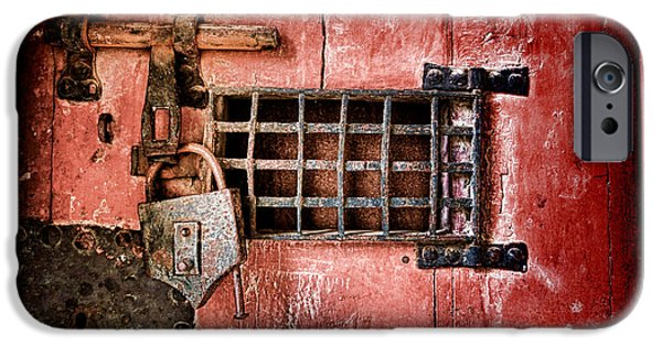 Dungeons iPhone Cases - Locked Up iPhone Case by Olivier Le Queinec