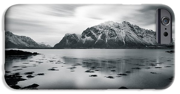 Norway iPhone Cases - Lofoten Beauty iPhone Case by Dave Bowman