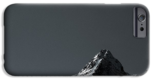 Norway iPhone Cases - Lofoten Peak iPhone Case by Dave Bowman