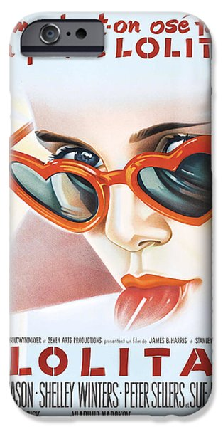 Trailers iPhone Cases - Lolita Poster iPhone Case by Gianfranco Weiss