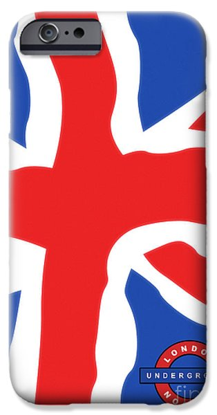 U-bahn iPhone Cases - London - Underground iPhone Case by ARTSHOT - Photographic Art