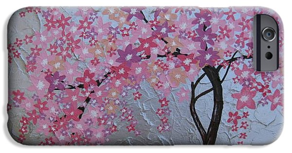 Recently Sold -  - Pastel iPhone Cases - London blossoms iPhone Case by Cathy Jacobs