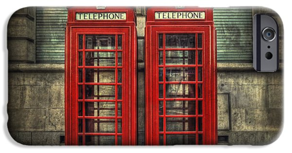 Phone iPhone Cases - London Calling iPhone Case by Evelina Kremsdorf