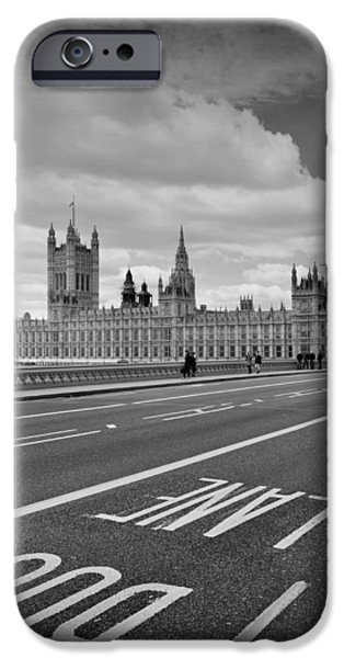 London - Houses of Parliament  iPhone Case by Melanie Viola