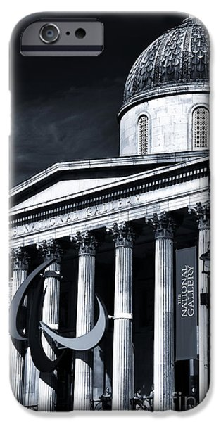 National Gallery Art iPhone Cases - London National Gallery iPhone Case by John Rizzuto