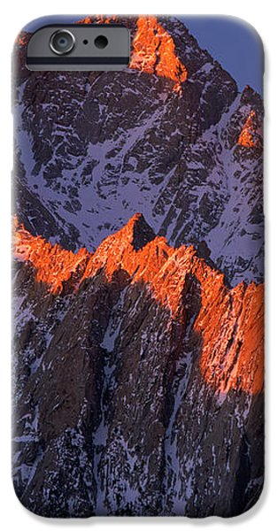 Lone Pine Peak iPhone Case by Inge Johnsson