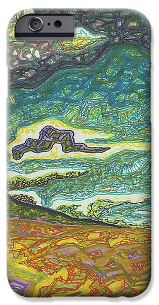 Lone tree iPhone Case by Dale Beckman