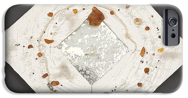 Magical Reliefs iPhone Cases - Loneliness ends iPhone Case by Heidi Sieber