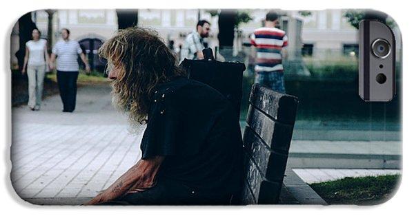 Orsillo Photographs iPhone Cases - Loneliness iPhone Case by Engin Uzunkaya