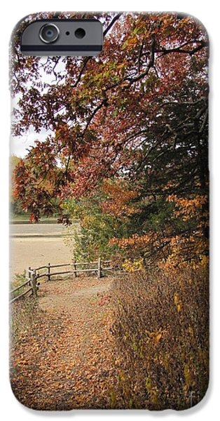 Pathway iPhone Cases - Lonesome Path iPhone Case by Minding My  Visions by Adri and Ray