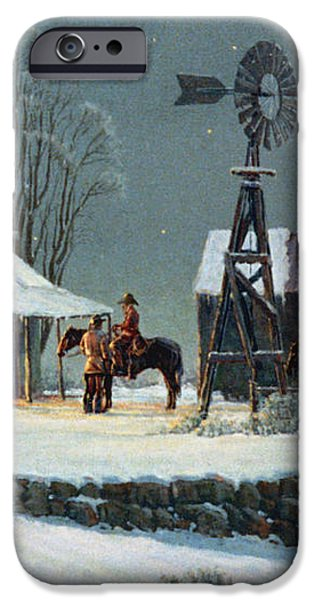Long Day's End iPhone Case by Randy Follis