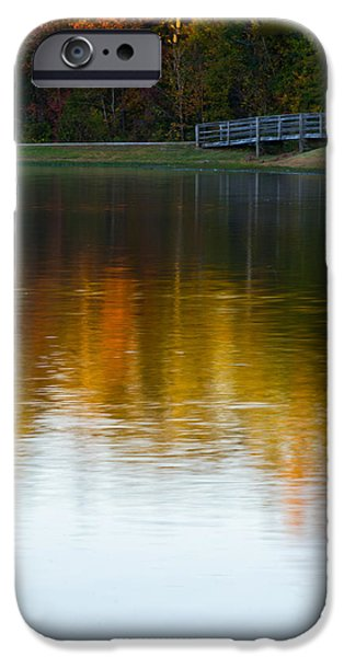 Autumn iPhone Cases - Long Exposure of the Bridge iPhone Case by Shelby  Young