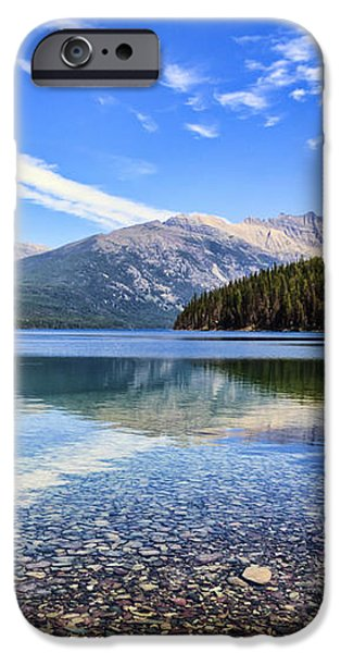 Long Knife Peak at Kintla Lake iPhone Case by Scotts Scapes
