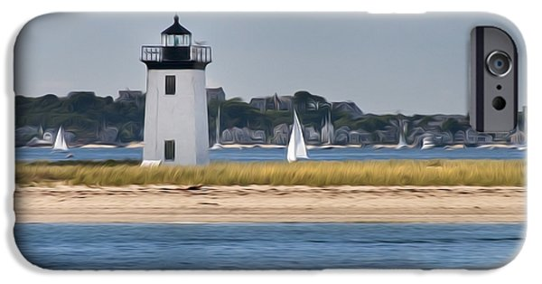 Cape Cod Lighthouse iPhone Cases - Long Point Light iPhone Case by Bill  Wakeley
