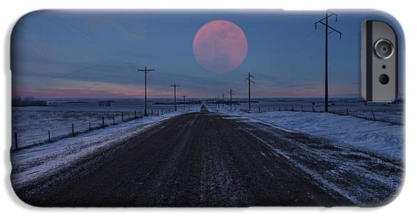 Full iPhone Cases - Long Road Home iPhone Case by Aaron J Groen