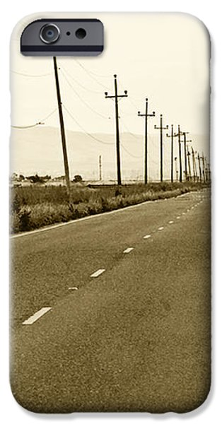 Long Road Home iPhone Case by Artist and Photographer Laura Wrede