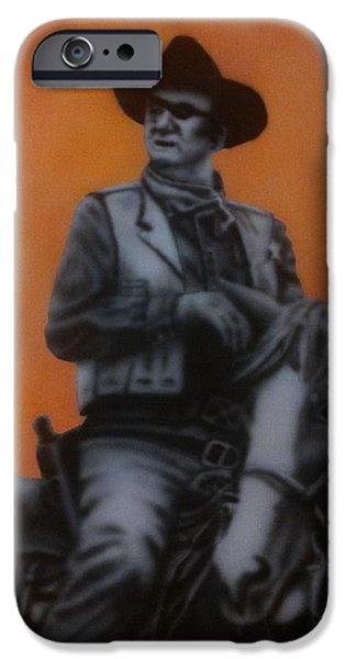 The Horse iPhone Cases - Long Road Home iPhone Case by Richard Armstrong