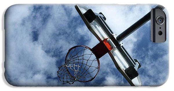 Dunk iPhone Cases - Long Shot iPhone Case by Tom Druin