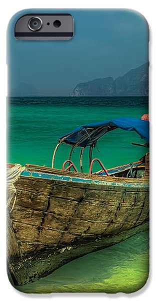 Longboat iPhone Case by Adrian Evans