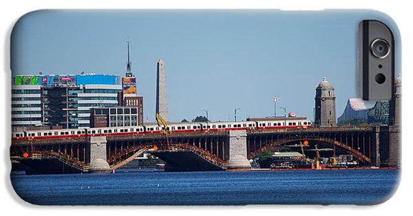 Charles River iPhone Cases - Longfellow Bridge iPhone Case by Allan Morrison