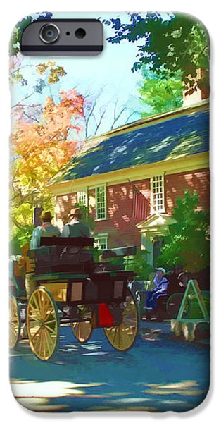Longfellows Wayside Inn iPhone Case by Barbara McDevitt