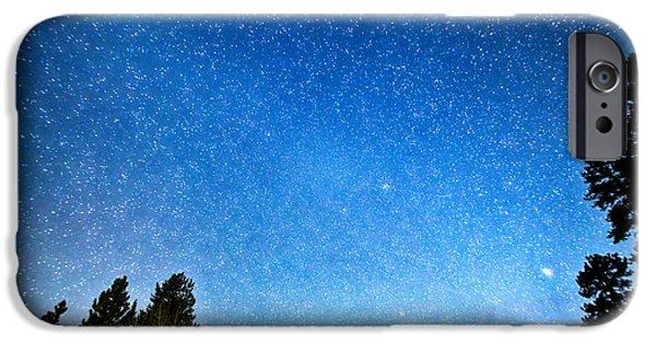 Stargazing iPhone Cases - Longs Peak Stargazing Colorado iPhone Case by James BO  Insogna