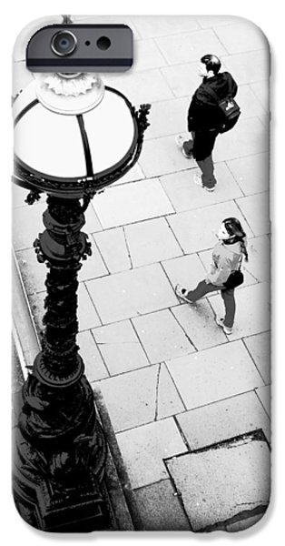 Look Left - ref 4244 iPhone Case by Colin Hogan
