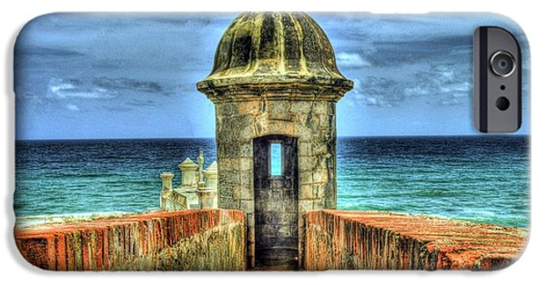 Puerto Rico iPhone Cases - Look Out iPhone Case by Dado Molina