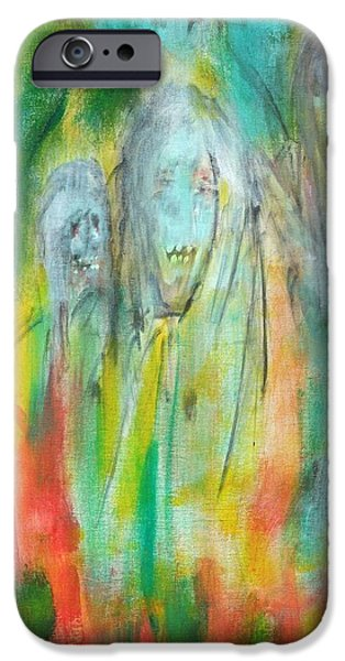 Faries iPhone Cases - Look iPhone Case by Randall Ciotti