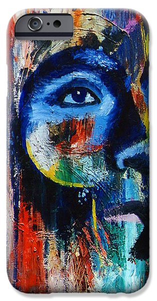 Autographed iPhone Cases - Looking After iPhone Case by Stephen Brooks