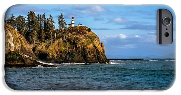 Cape Disappointment iPhone Cases - Looking At Cape Disappointment iPhone Case by Robert Bales