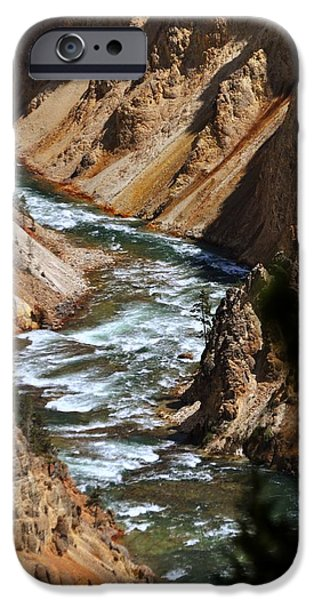 Looking Down iPhone Case by Marty Koch