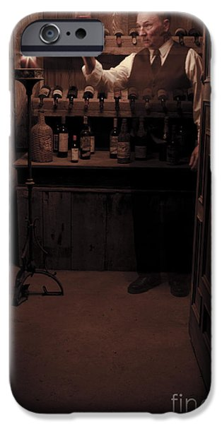 Wine Legs iPhone Cases - Looking For Legs iPhone Case by Roger Bailey