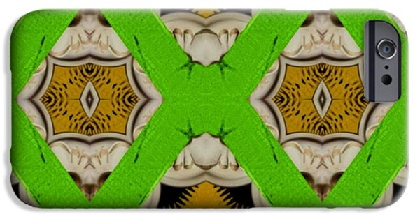 Pathway Mixed Media iPhone Cases - Looking for Link and Zelda iPhone Case by Pepita Selles
