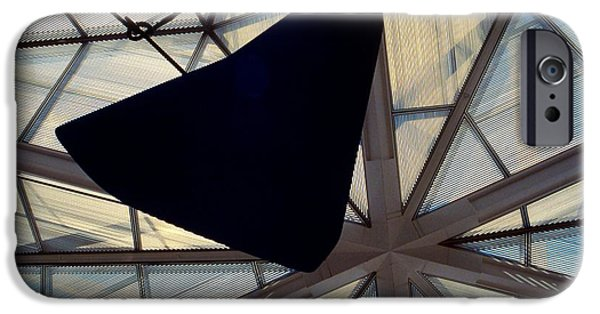 Recently Sold -  - Smithsonian iPhone Cases - Looking Up at the East Wing iPhone Case by Stuart Litoff