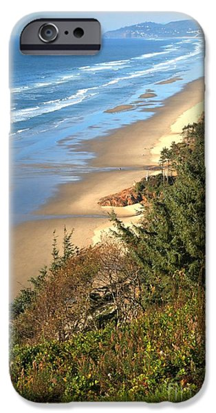 Cape Lookout iPhone Cases - Lookout Over The Cape iPhone Case by Adam Jewell