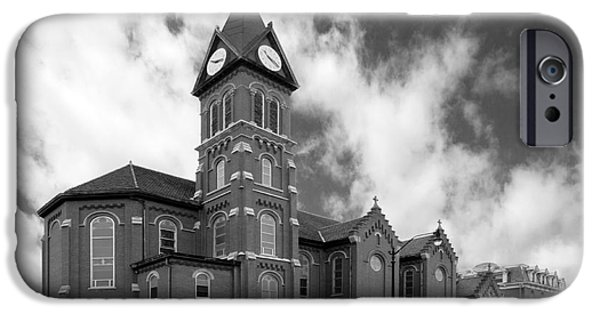 Catholic iPhone Cases - Loras College St. Joseph Chapel iPhone Case by University Icons