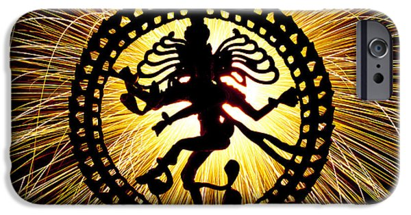 Sparking iPhone Cases - Lord of the Dance iPhone Case by Tim Gainey