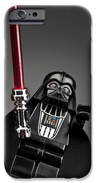 Lego iPhone Cases - Lord Vader iPhone Case by Samuel Whitton